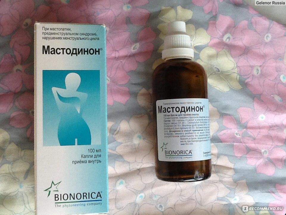 """Гомеопатия Bionorica Мастодинон капли - """"От мастопатии помог и от боли в груди помогает Мастодинон"""" Отзывы покупателей"""