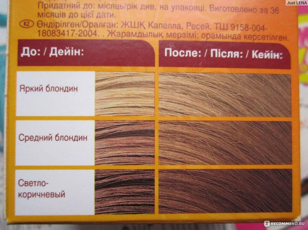 цвет волос ясень