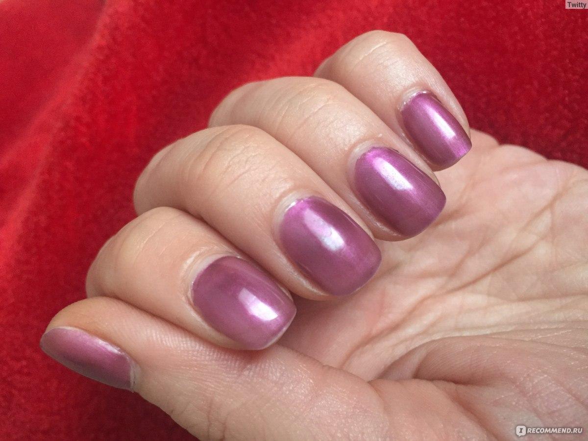 Втирка для ногтей фиолетовая фото