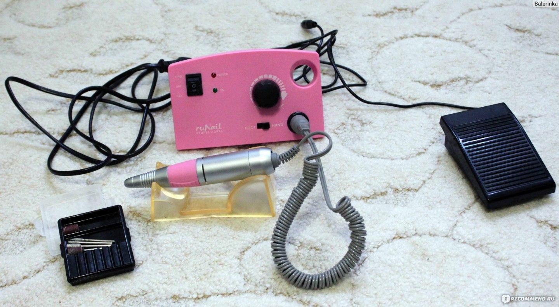 Отзывы рунейл аппарат для маникюра розовый