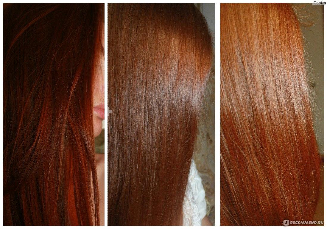 Окраска волос бесцветной хной
