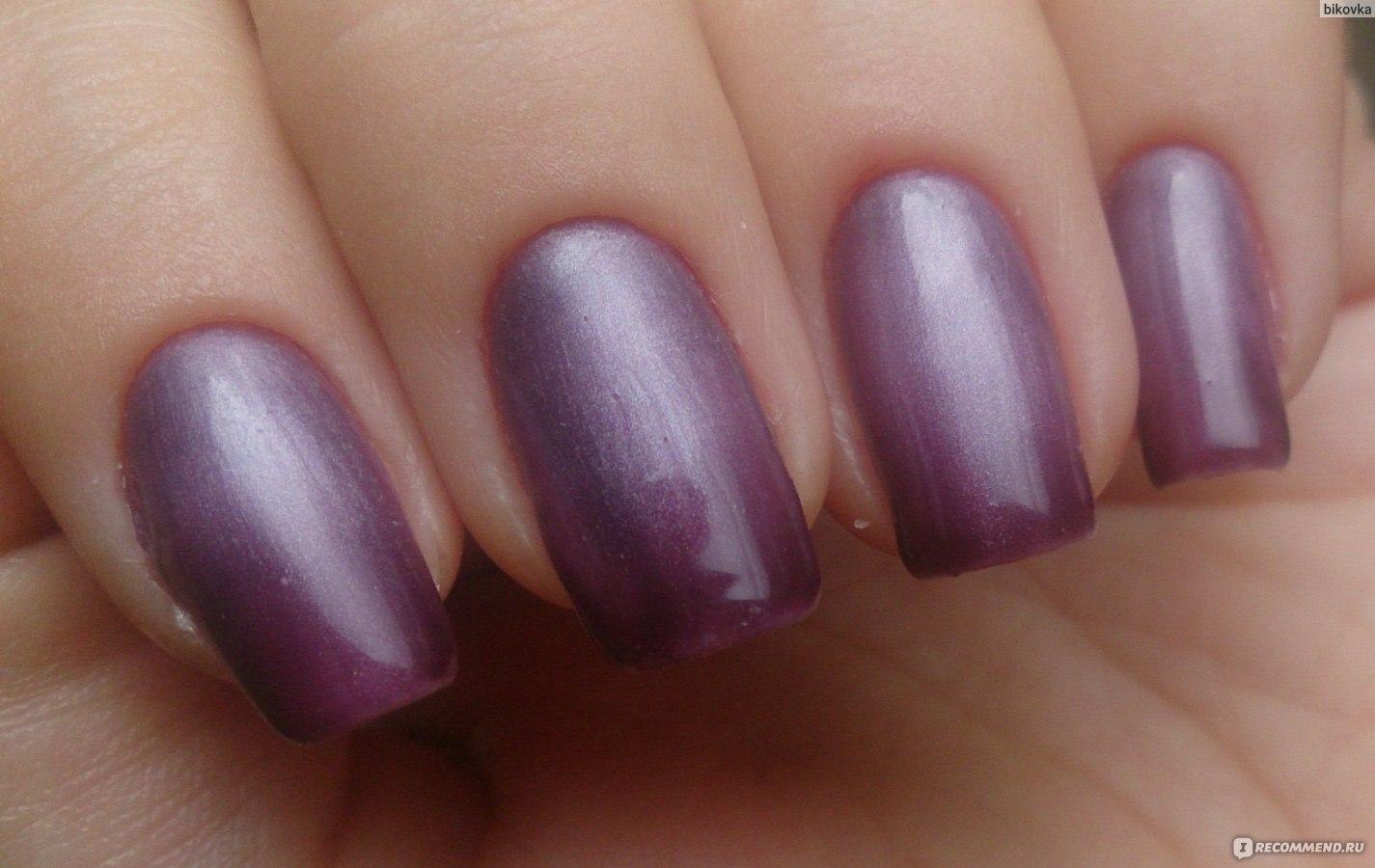Дизайн ногтей фиолетового кошачий глаз фото