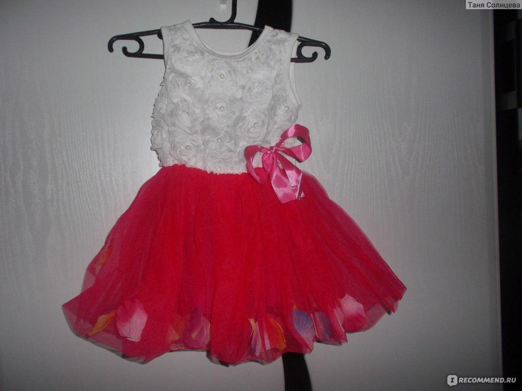 Фото детские платья с алиэкспресс
