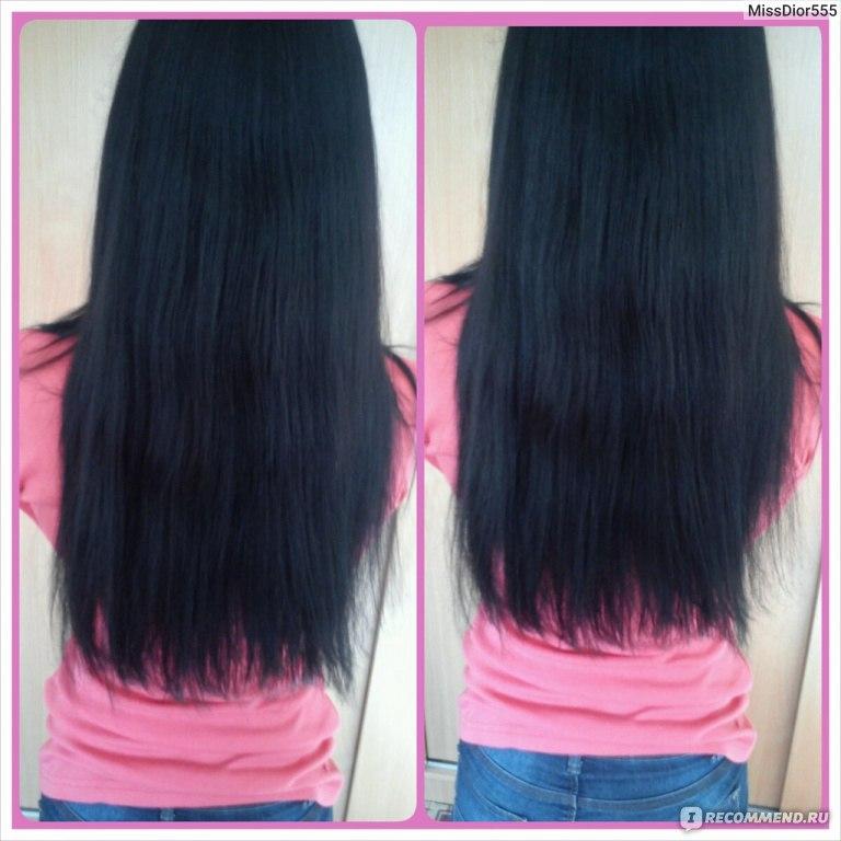 Чёрные волосы в домашних условиях 534