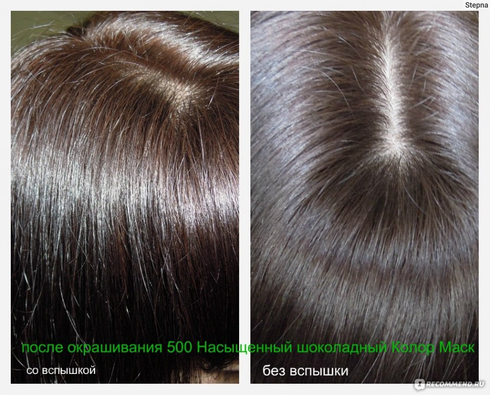 Фото шоколадный цвет волос отзывы