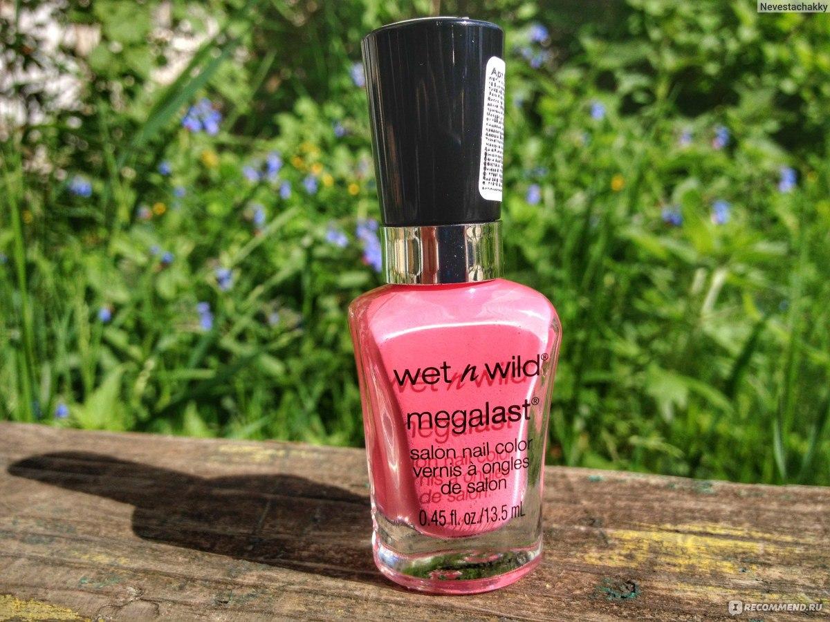 Wet N Wild Megalast Salon Nail Color Candylicious