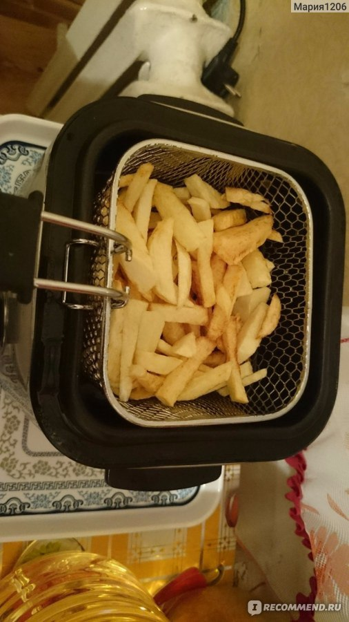 Как сделать в дома картошку фри без фритюрницы