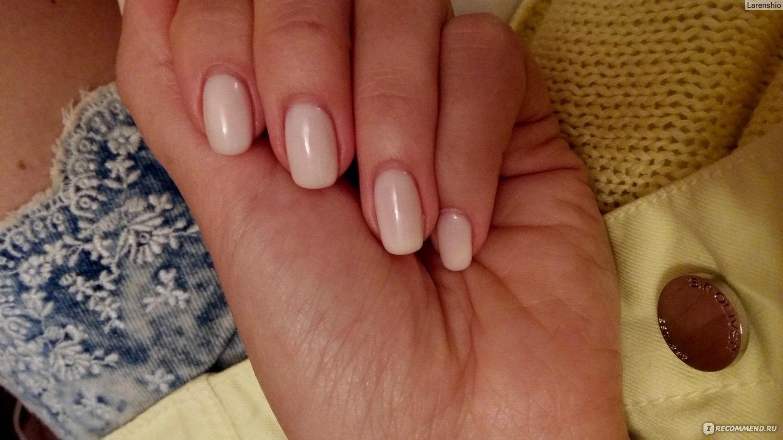 Гель на натуральных ногтях фото