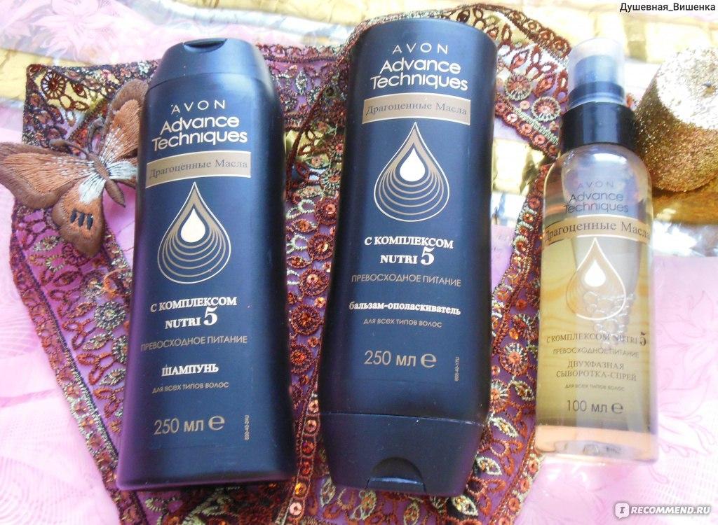 Шампунь avon advance techniques драгоценные масла отзывы косметика rituals где купить