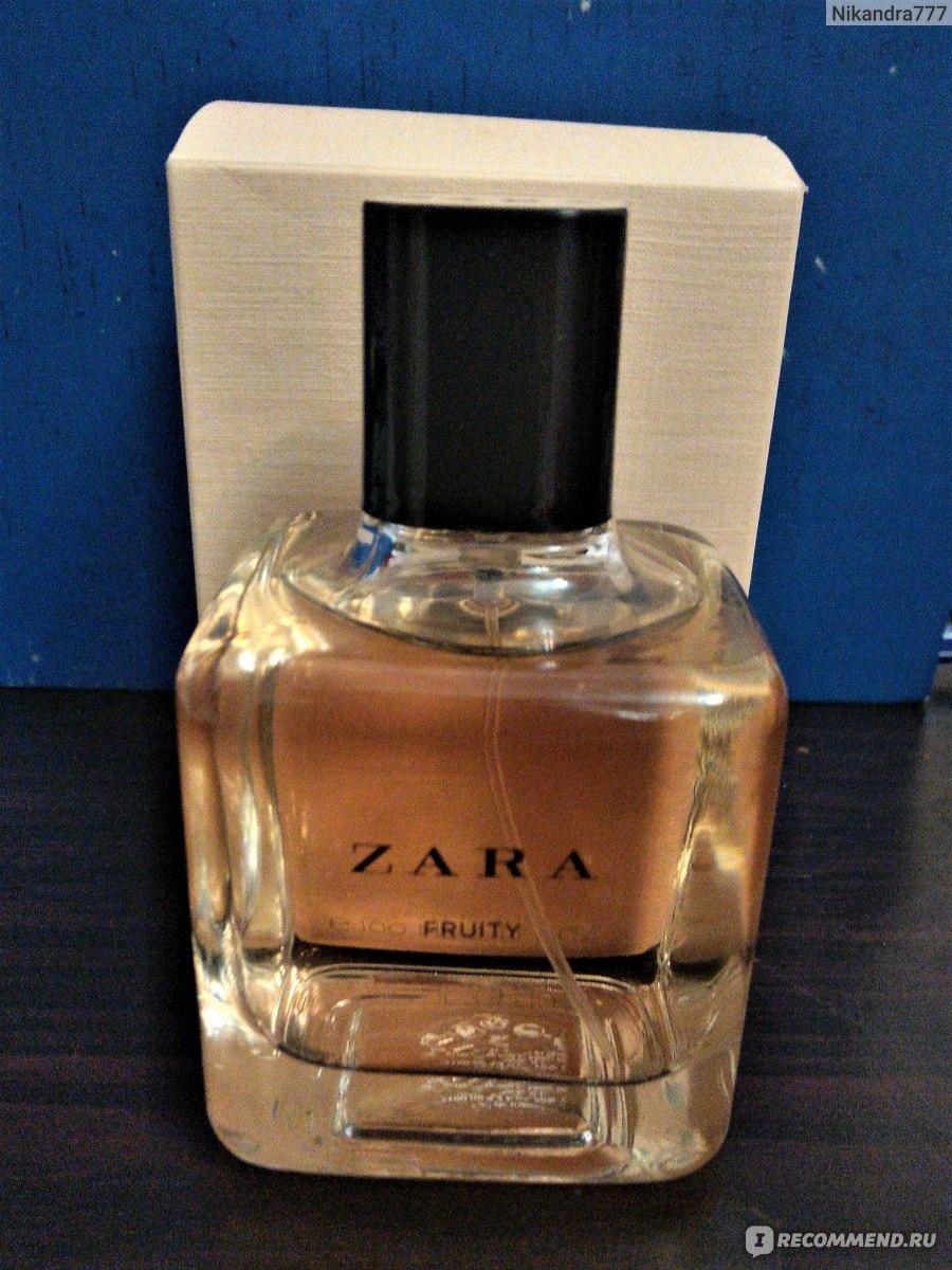 Zara Woman Fruity парфюм Zara подделка или нет стойкость