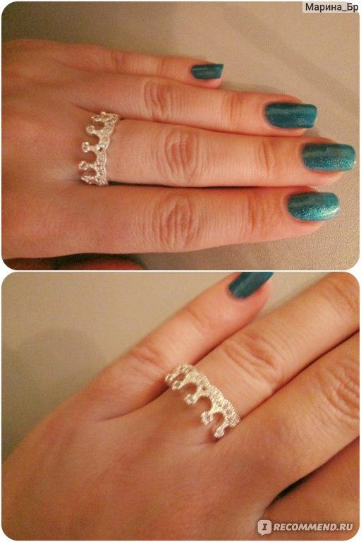 как носить кольцо корону