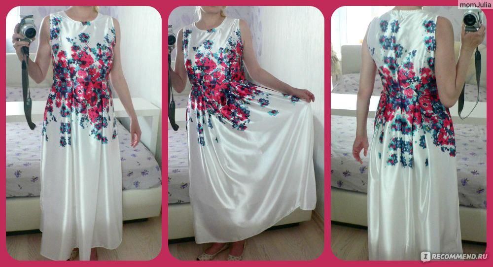 Растянутое платье исправить