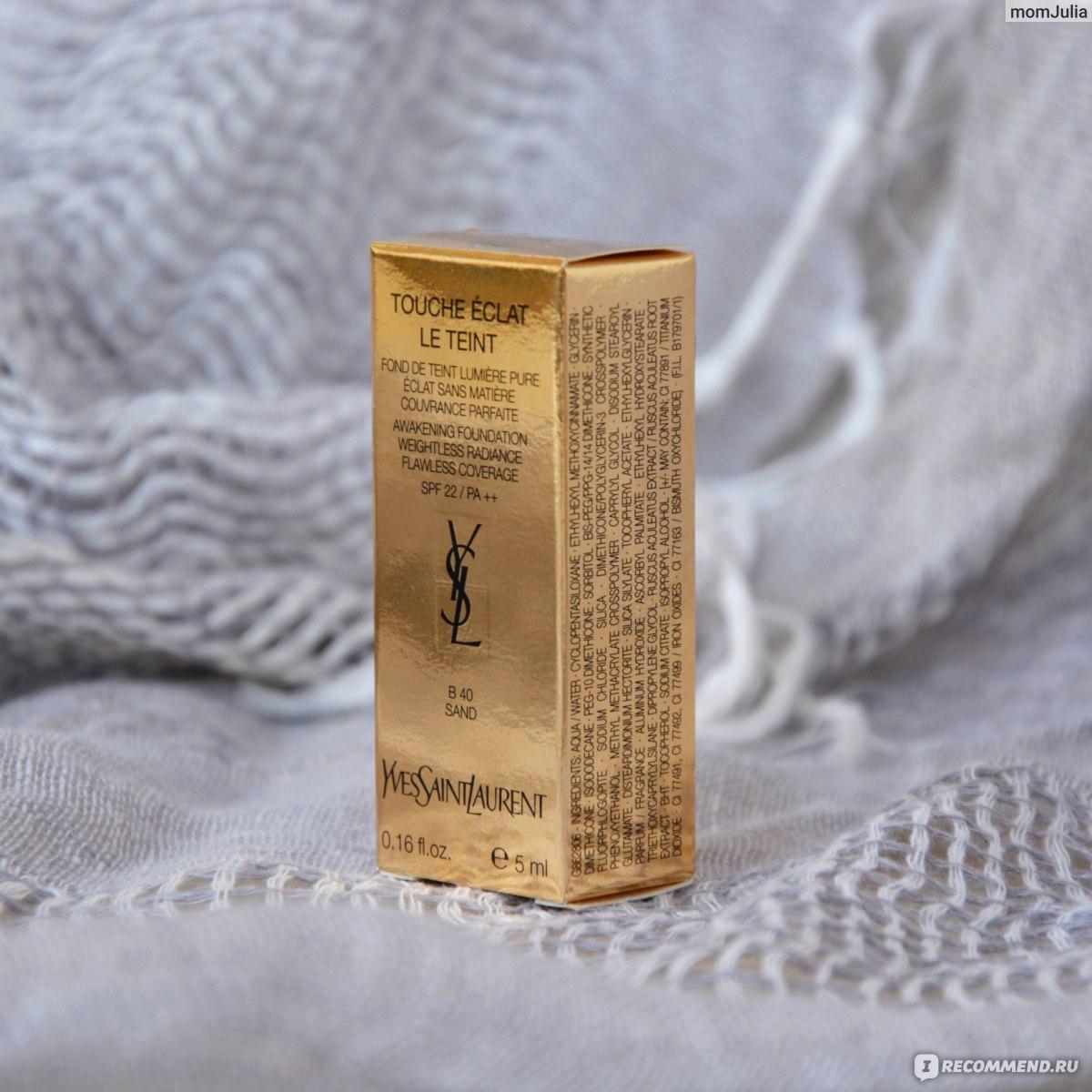 матирующий тональный крем yves saint laurent teint mat purete отзывы