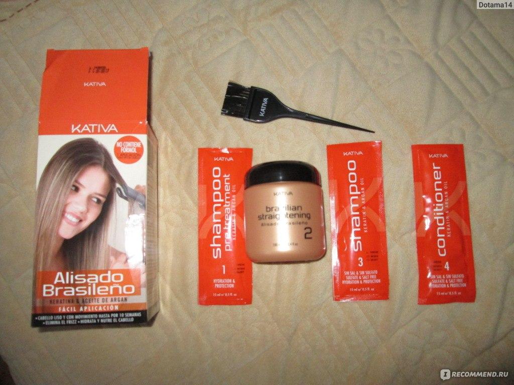 Наборы для кератинового выпрямления волос в домашних условиях