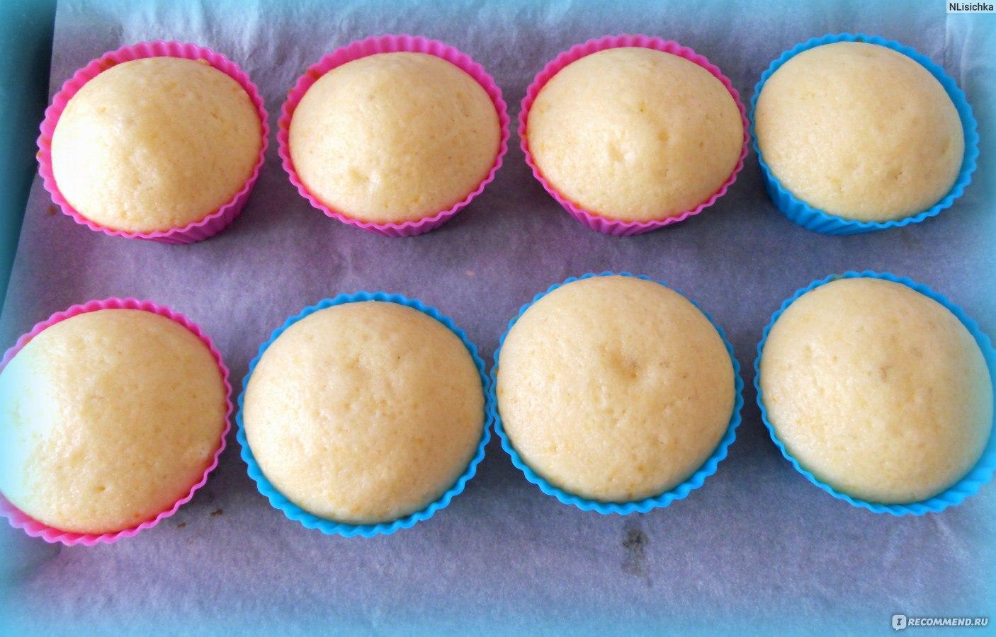 Самый вкусный рецепт кексов в силиконовых формочках пошагово