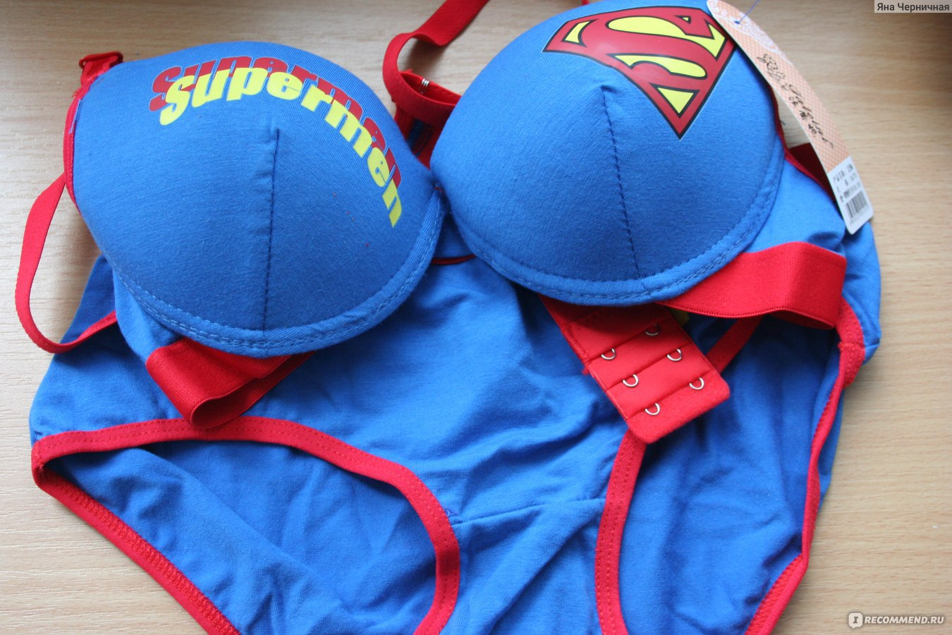 6efa1061ce48034 Нижнее белье Aliexpress Superman 100% cotton sweat absorbing super man  young girl sexy push up