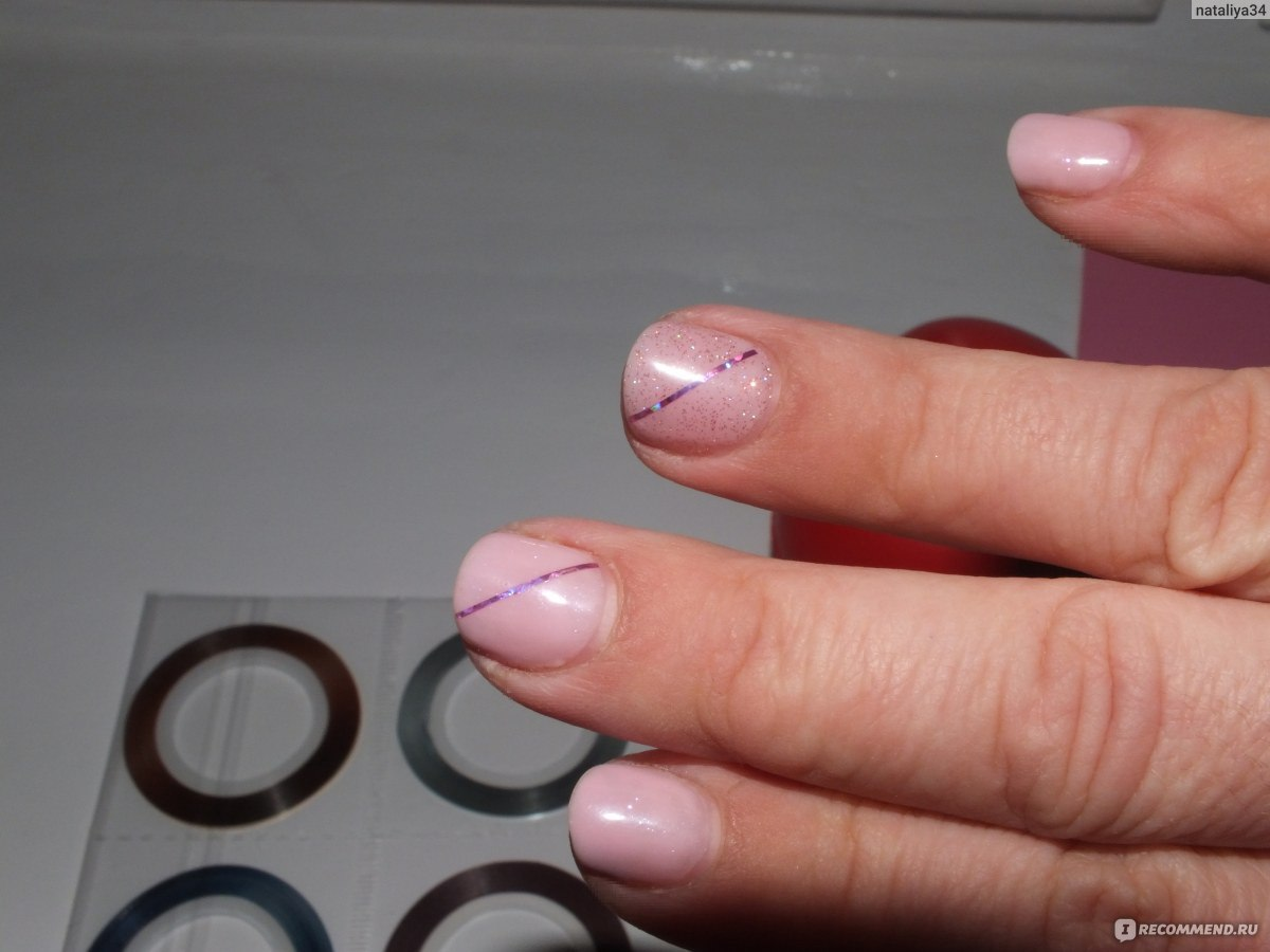 Фото лента самоклеящаяся для ногтей