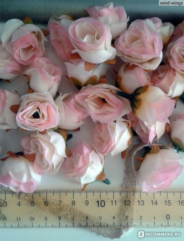 Искусственные бутоны роз купить