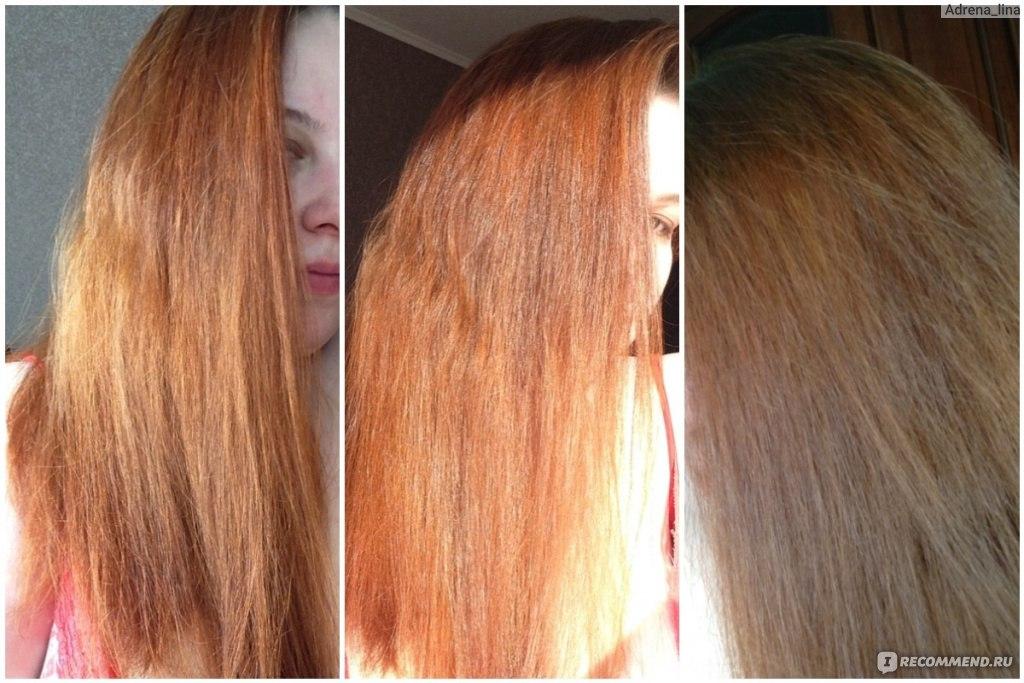 Как осветлить волос после окрашивания в домашних условиях 658