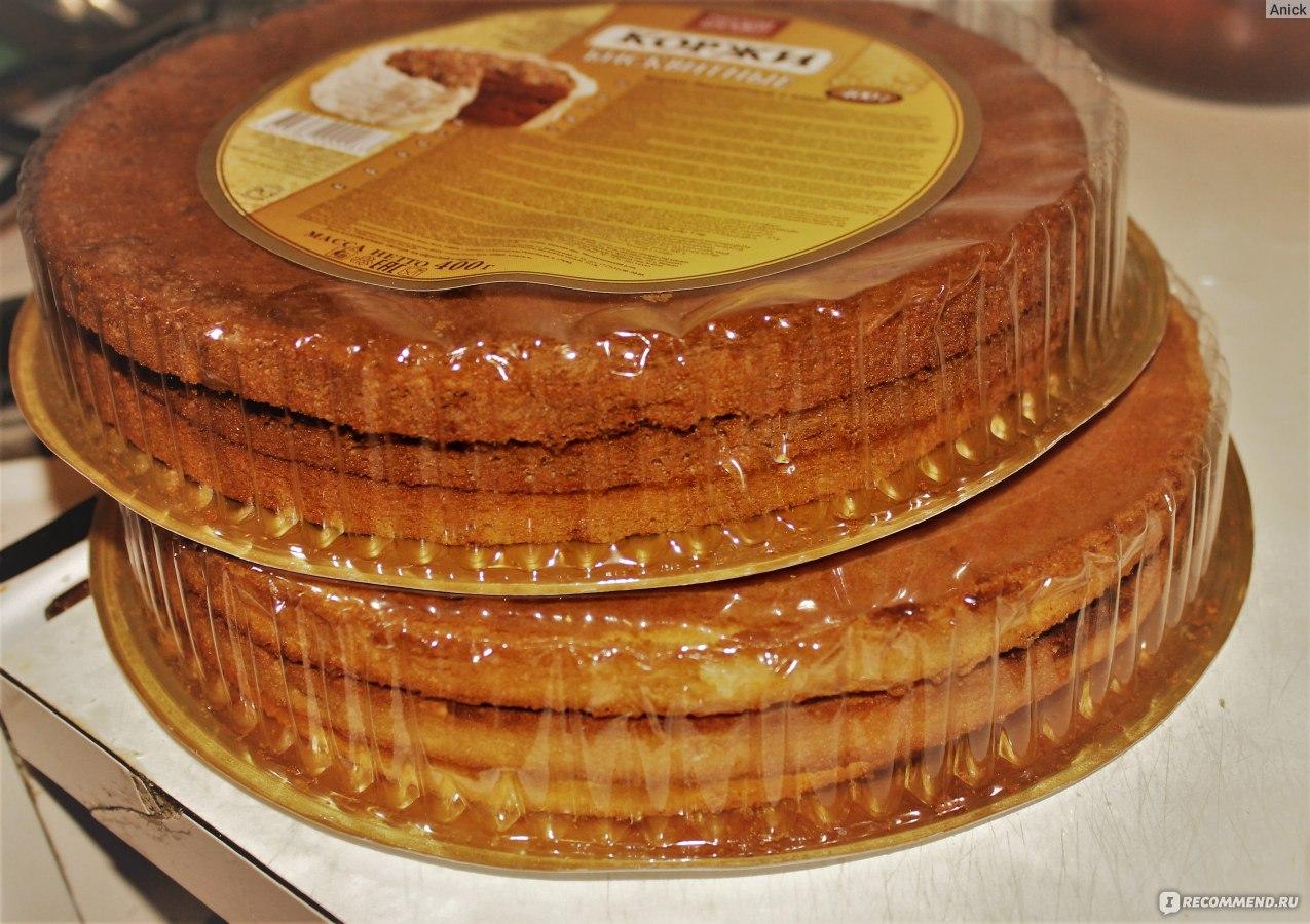 Как красиво сделать торт из коржей 621