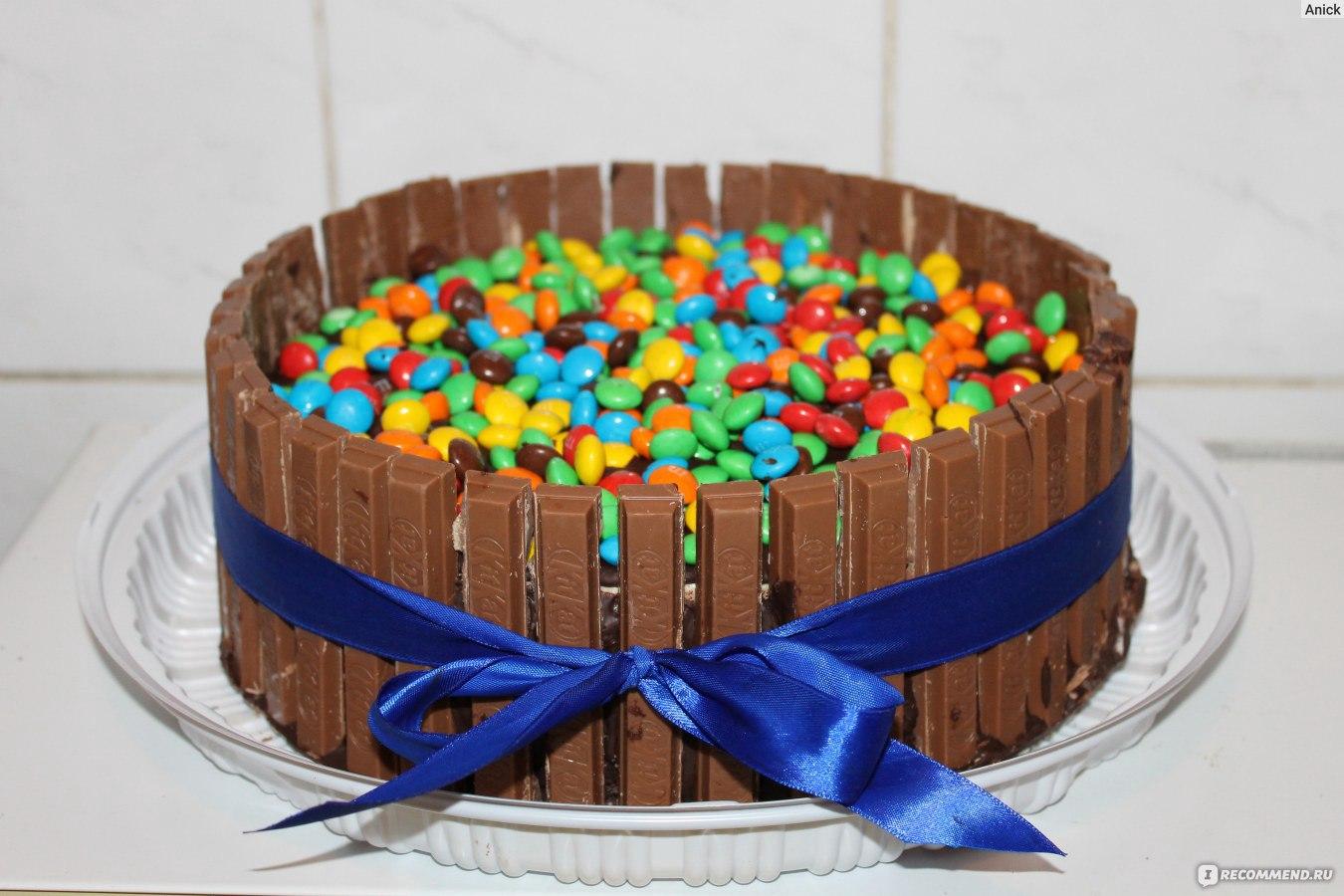 Как сделать торт из покупного бисквита