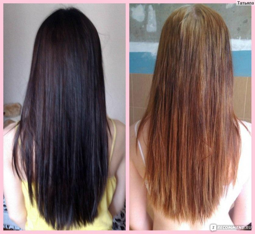 Смывка краски с волос эстель