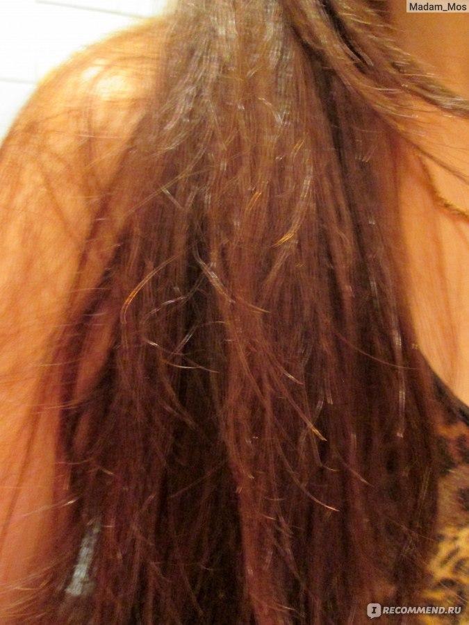 общей массе волос и они не