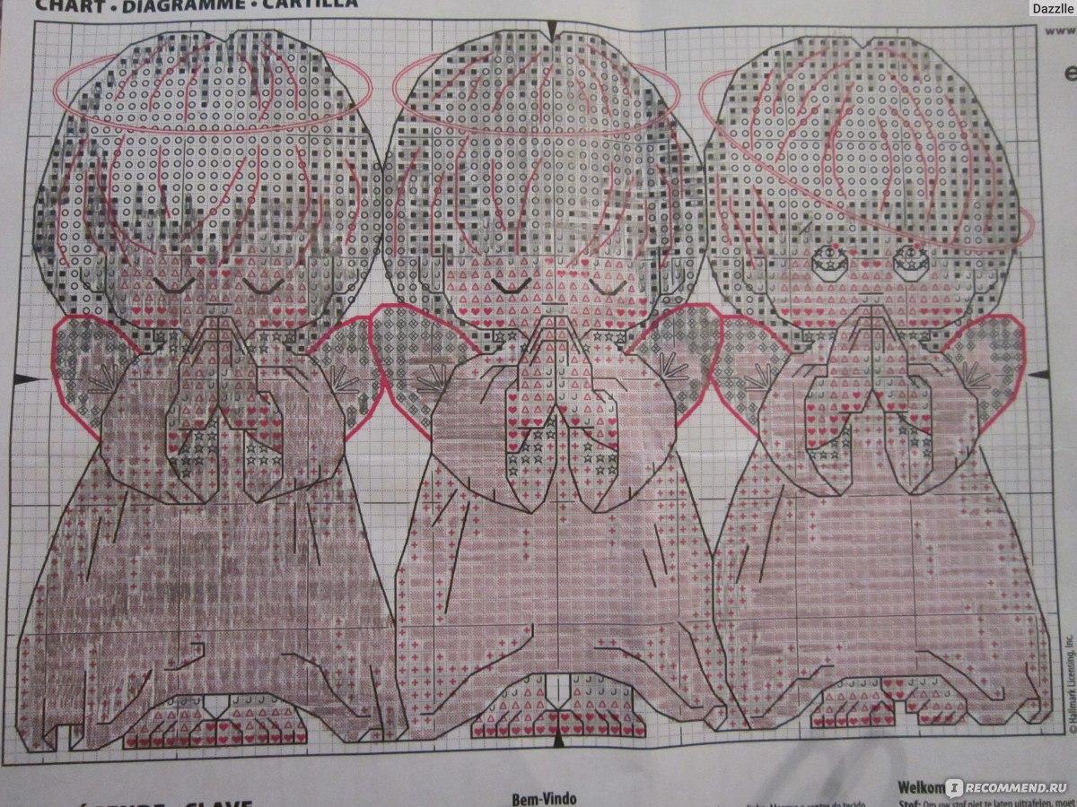 расшифровка схемы вышивки dimensions