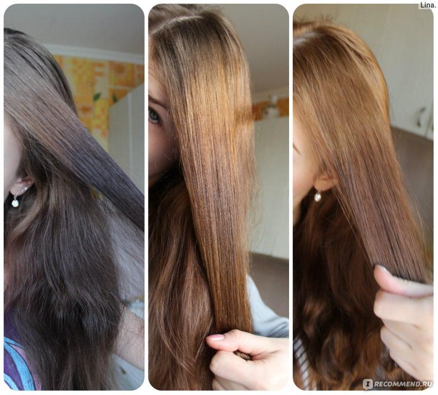 Как сделать смывку для темных волос 474