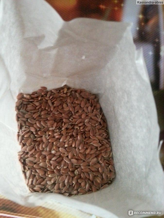 семя льна от паразитов рецепт