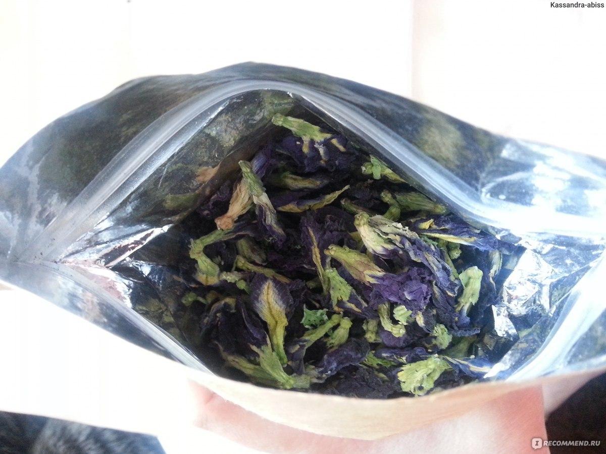синий чай таиланда