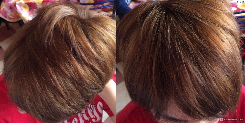 Краска для волос осветляющая и окрашивающая одновременно