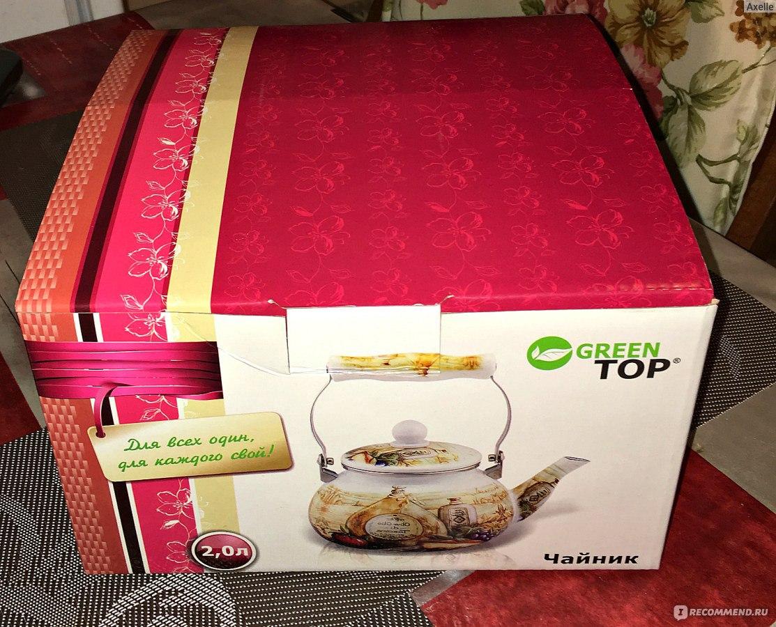 Чайник со свистком Green Top