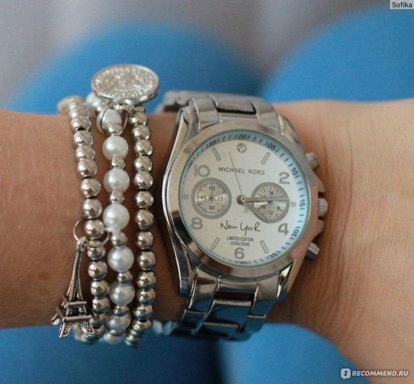 michael kors часы с браслетом напоследок: если постоянно