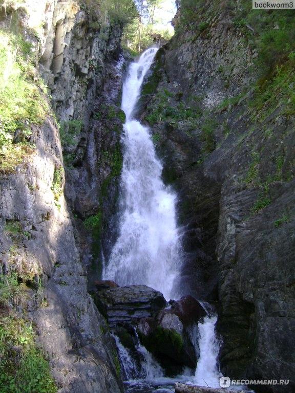 водопад в горном алтае фото
