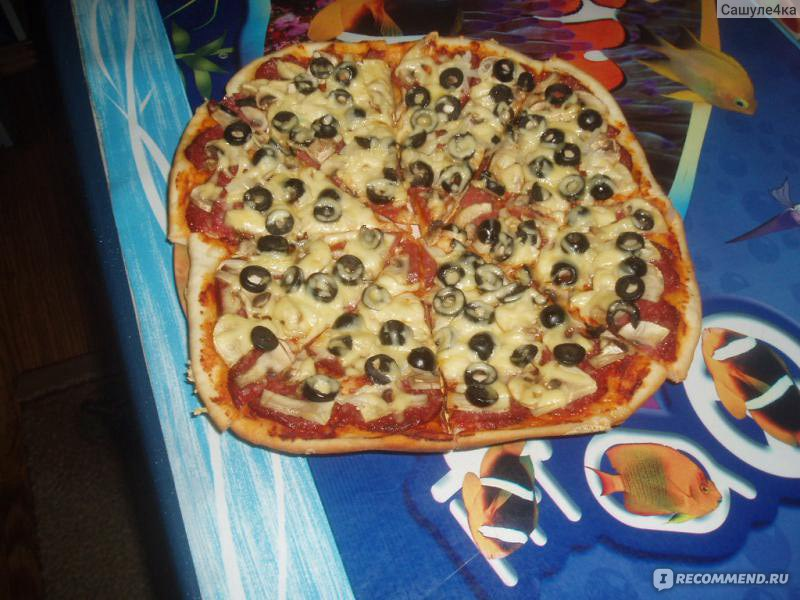 вкусная пицца рецепт с сухими дрожжами