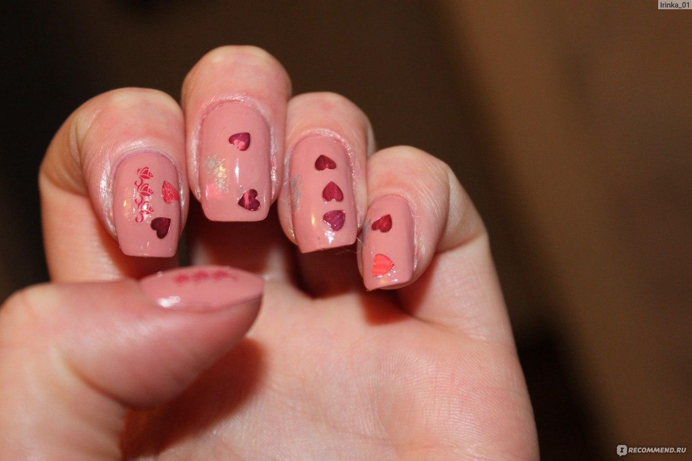 Дизайны ногтей с сердцами фото
