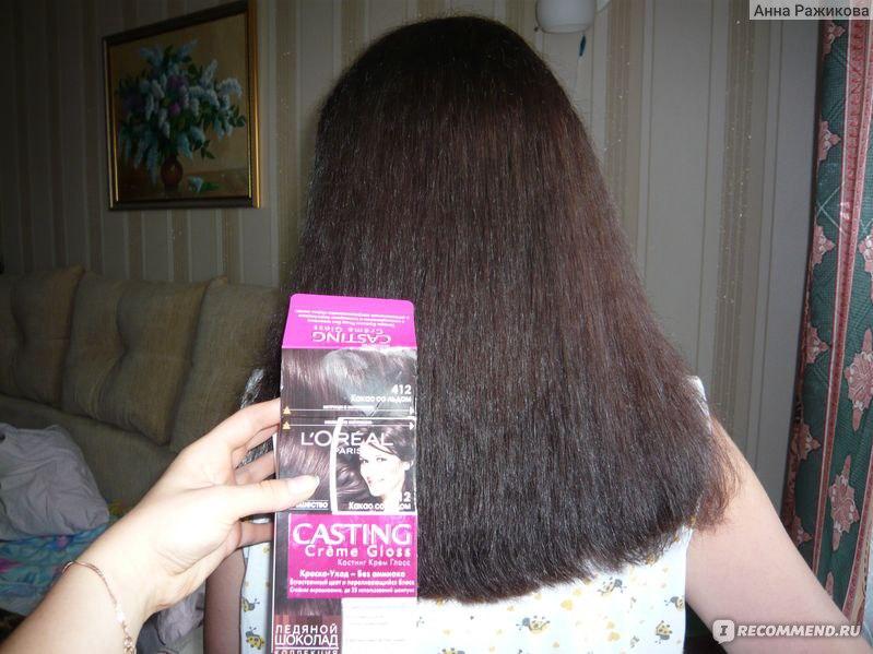 Цвет волос какао со льдом фото