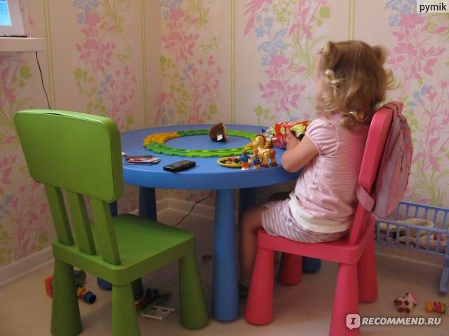 Ikea детские стул и стол серии маммут есть идея есть икеа фото