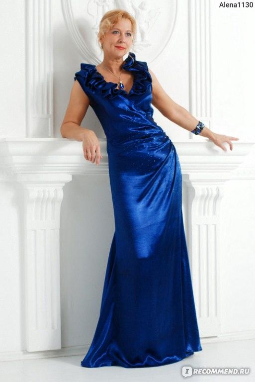 Модели платьев бурда вечерние