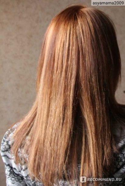 Щадящая смывка для волос