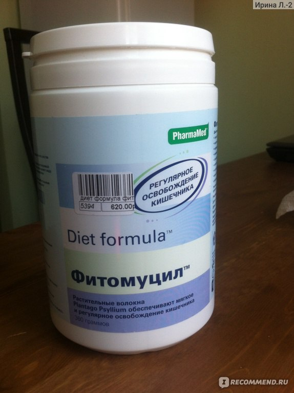 Фитомуцил диет формула