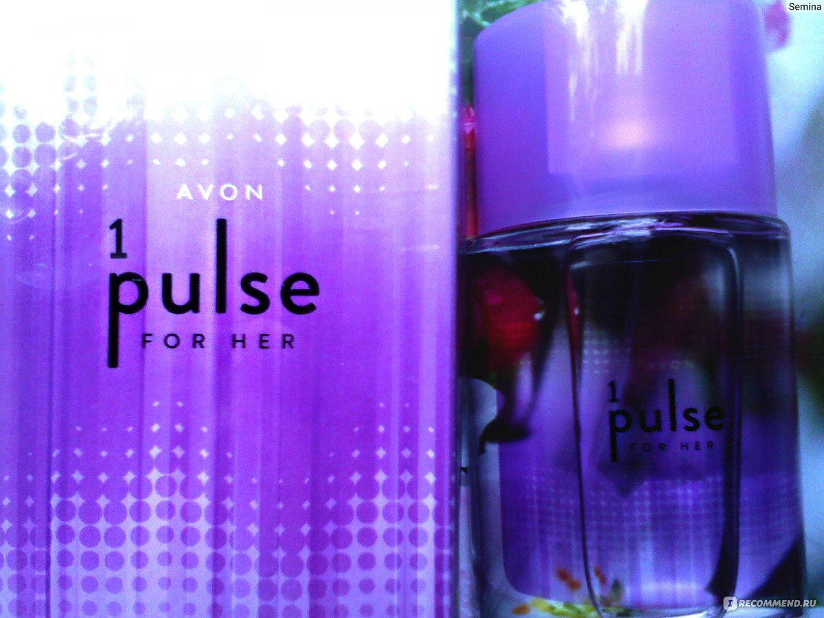 Avon 1 Pulse For Her Avon 1 Pulse For Her самый удушливый в Avon