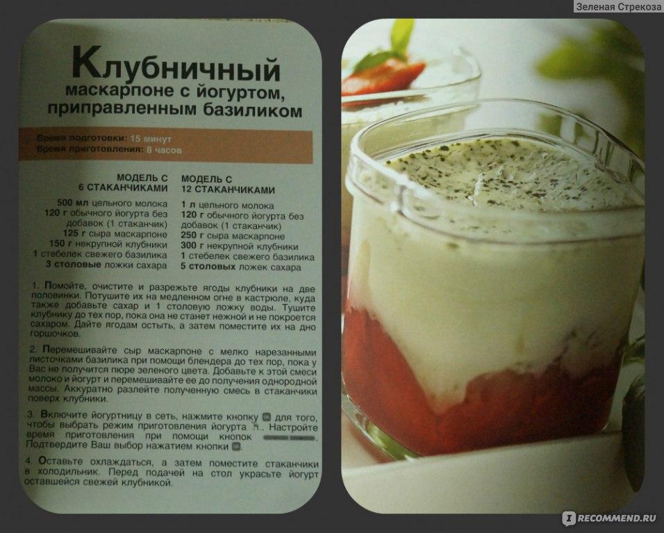 Рецепт приготовление йогуртов в домашних условиях 969