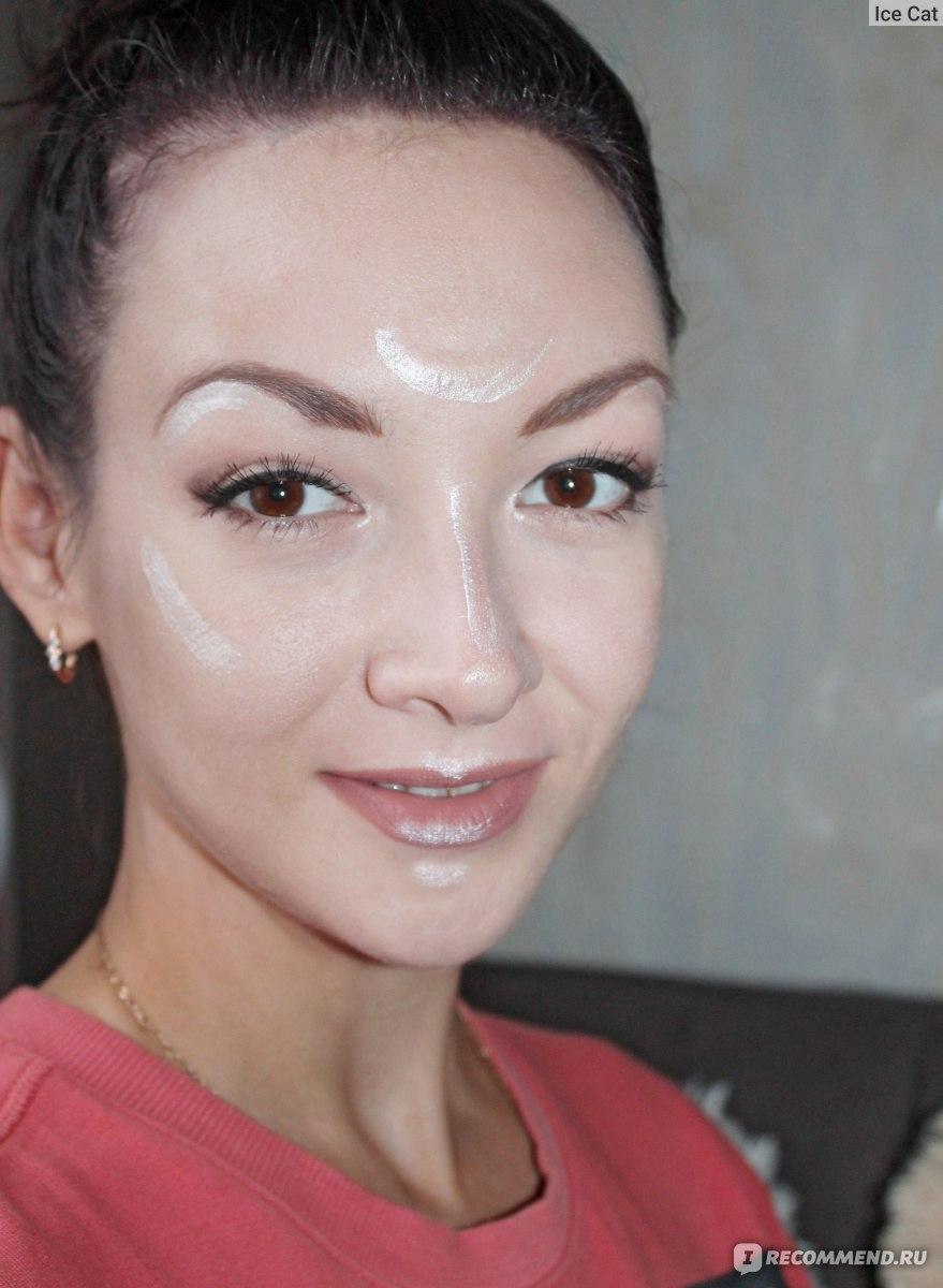 Наложение макияжа на фото