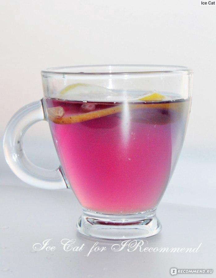 как выглядит синий чай