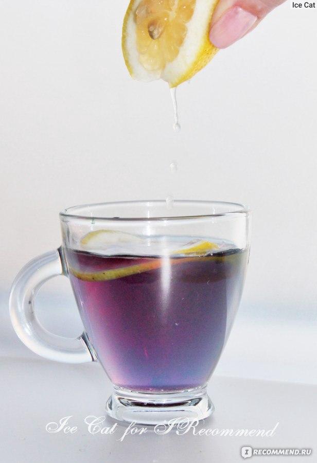 синий чай из тайланда для волос отзывы