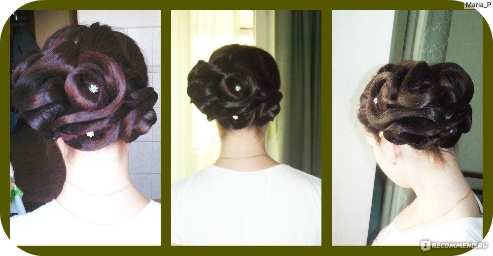 Как из волос сделать сеточку 116