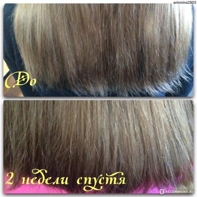 Процедура запаивания волос