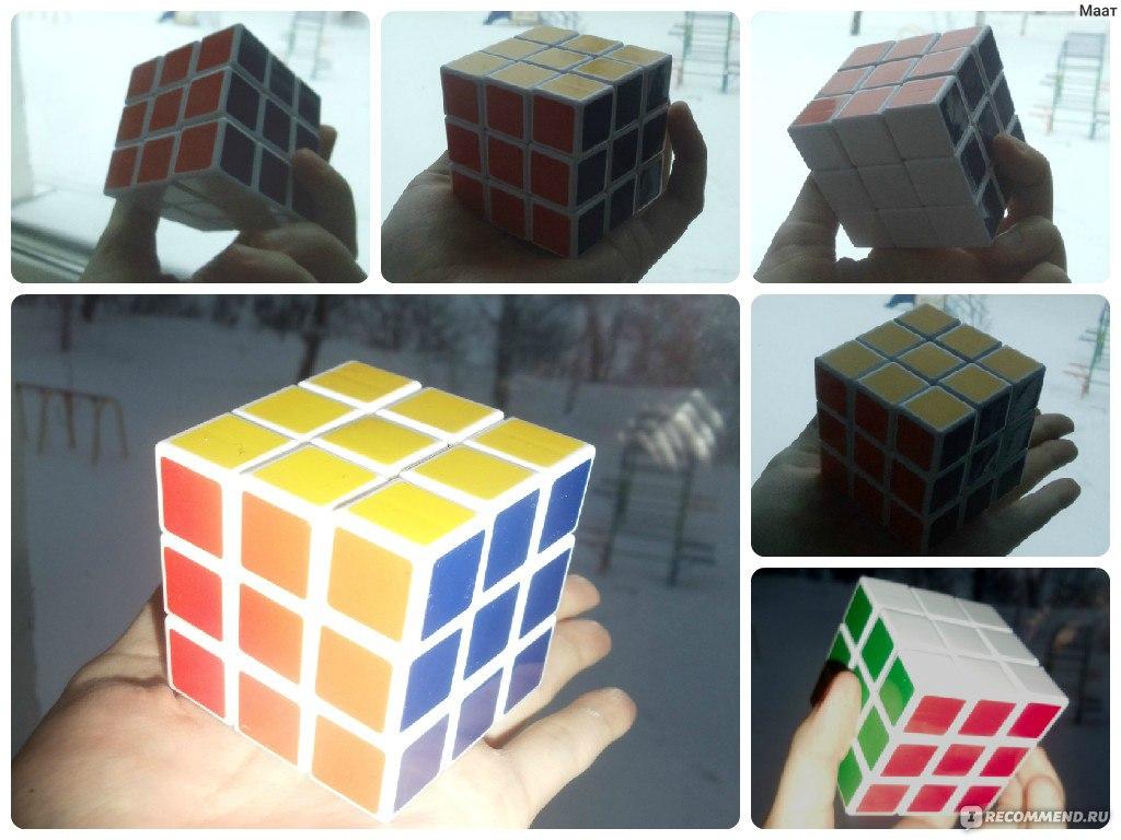 Как сделать цветок кубик рубик